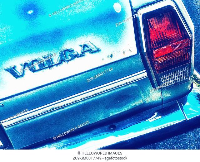 1970's Volga Soviet Union car, Sebastopol, Crimea