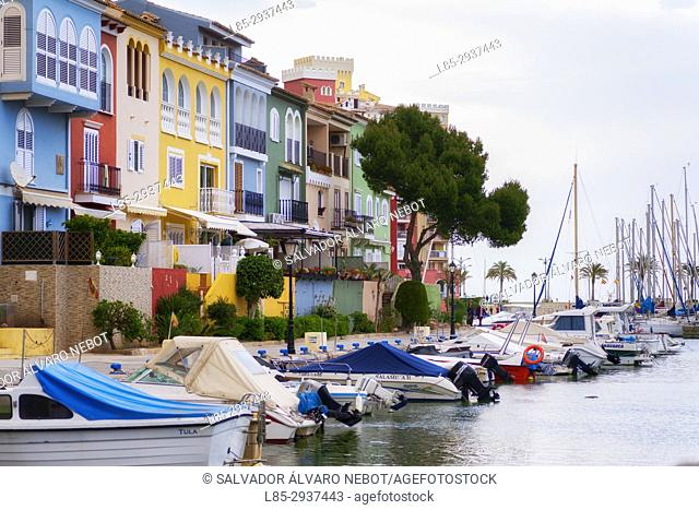 Sports harbor, Port Saplaya, Valencia, Spain. Europe
