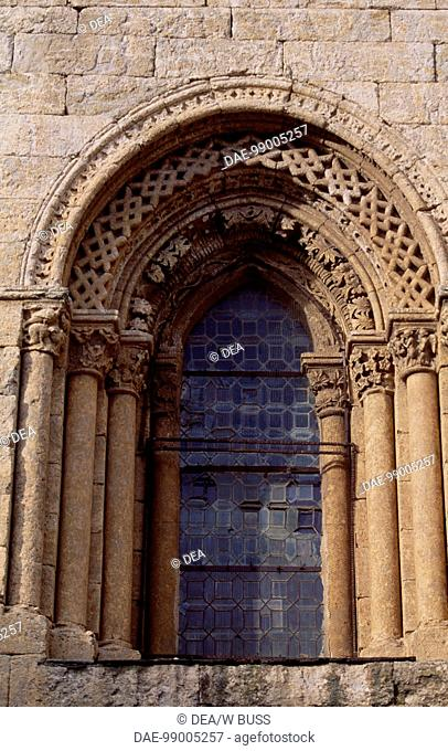 Door to the Cathedral of Santa Maria, Ciudad Rodrigo, Castile and Leon. Spain, 12th-13th century