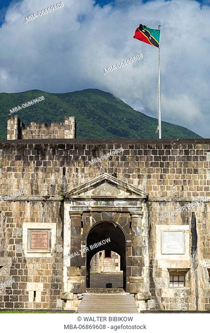 St. Kitts and Nevis, St. Kitts, Brimstone Hill, Brimstone Hill Fortress