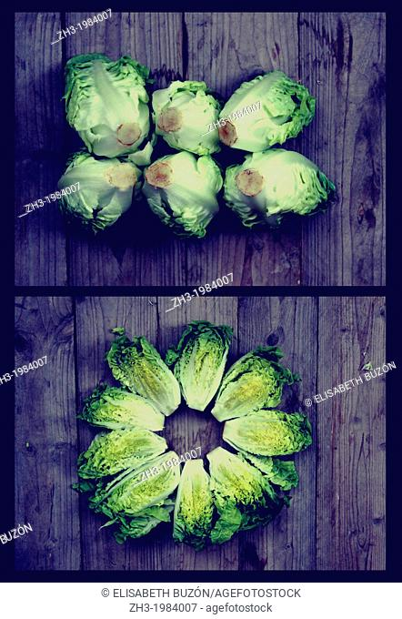 Image on a vegetable