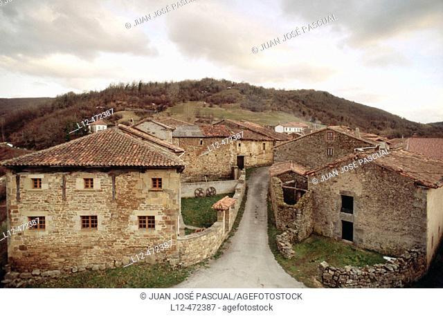 Aldea de Ebro. Cantabria, Spain