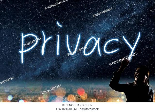 Concept of privacy