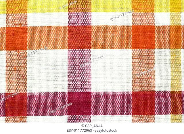 colorful checkered fabric background