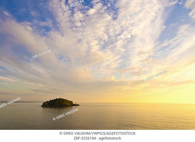 Deception Island from Rosario Head, Deception Pass State Park, Fidalgo Island, Washington