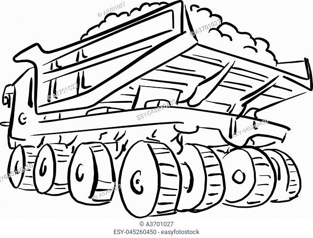 Kenworth W900l Dump Truck Old