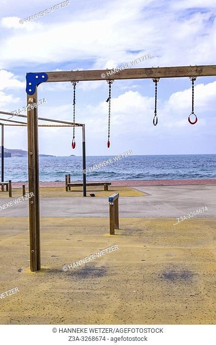 Recreation field in Las Palmas de Gran Canaria