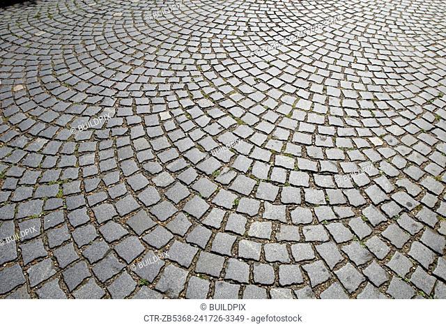 Old paving stone, UK