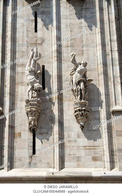 Milan Cathedral, Milan, Lombardy, Italy, Western Europe