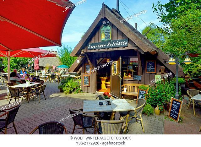 Koserower Salzhuetten, a place of little Fishrestaurants, Koserow, Usedom, Germany