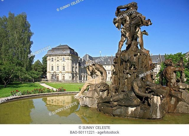 Monastery of Ebrach near Bamberg, Frankonia, Bavaria, germany