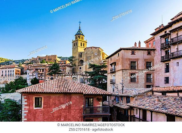 Albarracin, medieval fortified city. Teruel, Aragón, Spain, Europe