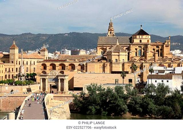 View over the city of Cordoba, Andalusia Spain