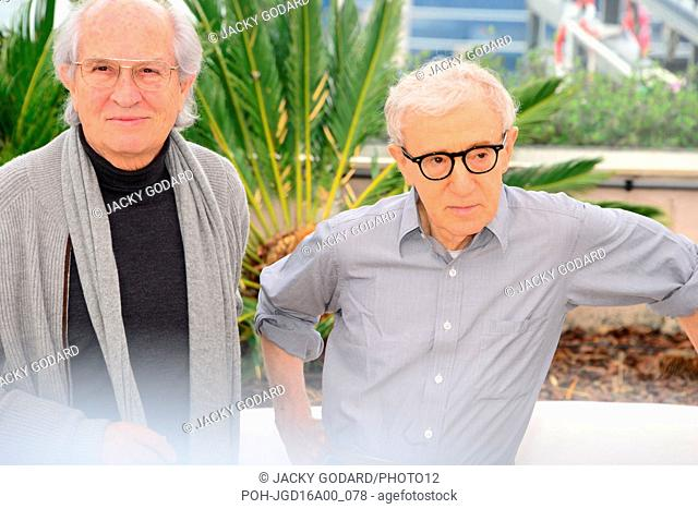 "Vittorio Storaro and Woody Allen Photocall for the film '""""Cafe Society' 69th Cannes Film Festival May 11, 2016"