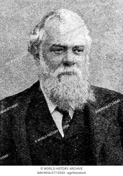 Photographic portrait of Victor Bruce, 9th Earl of Elgin (1849-1917) a right-wing British Liberal politician who served as Viceroy of India