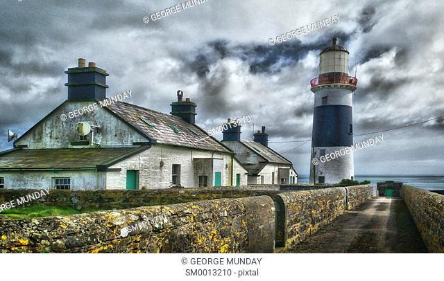 Mine Head Lighthouse,. Ard Rinn (Ring) Peninsula,. County Waterford, Ireland