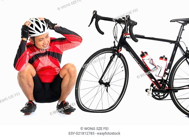 Flat tire bike