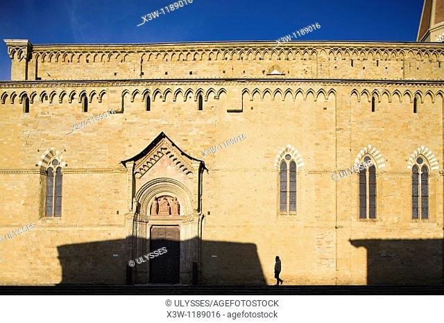 europe, italy, tuscany, arezzo, cathedral