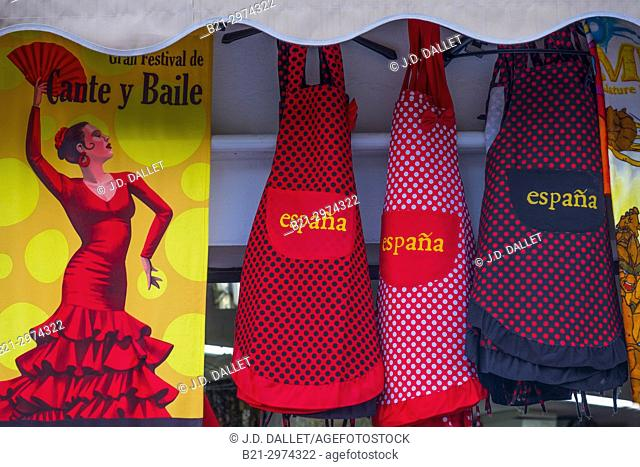 Spain, Andalusia, Malaga Province, at Mijas