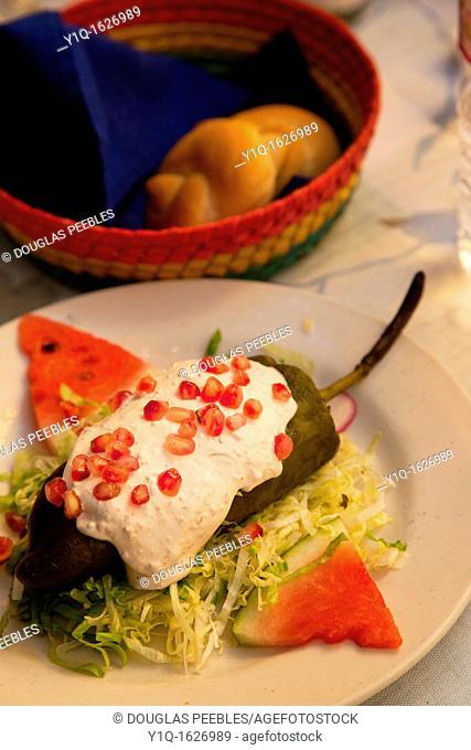 Chile Nogata, Bugambilia, Restaurant, San Miguel de Allende, Guanajuato, Mexico, san miguel
