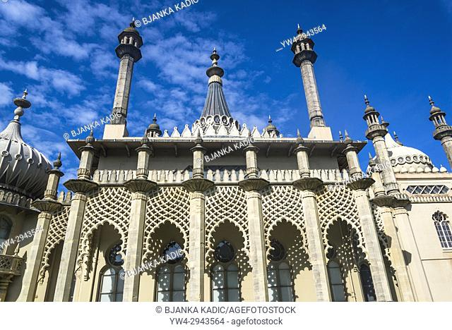Royal Pavilion, Brighton, England, UK