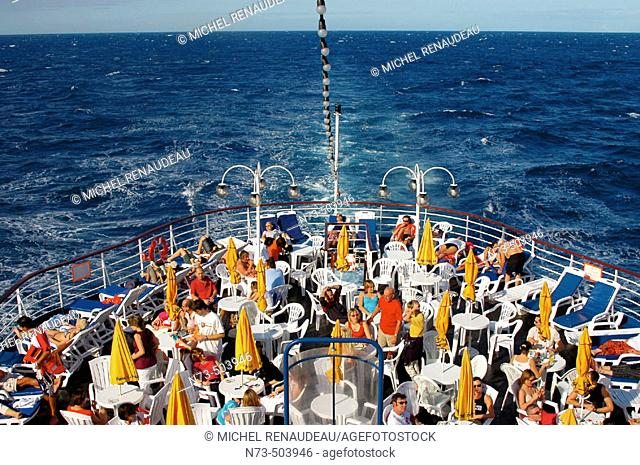 Cruise in the Caribbean Seas on the Arion cruise ship