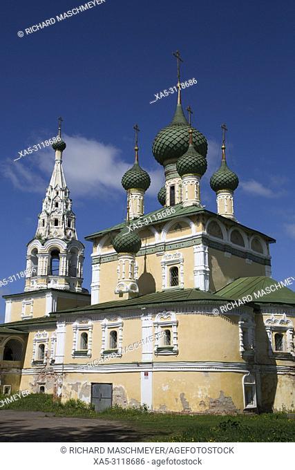 Rozhdestva Ioanna Predtechi Church, Uglich, Golden Ring, Yaroslavl Oblast, Russia