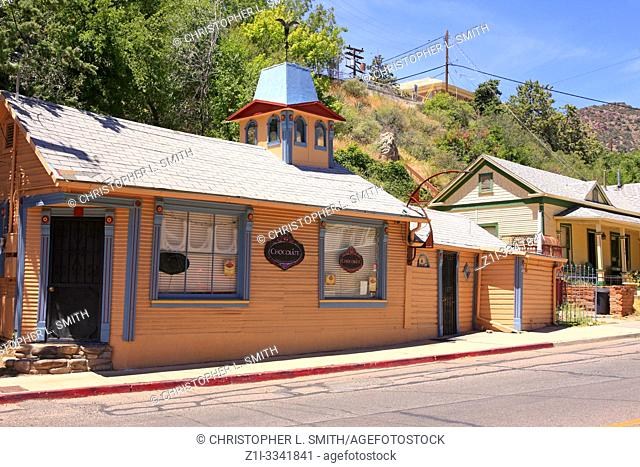 The Chocolate Shop on Tombstone Canyon Road in Bisbee, AZ