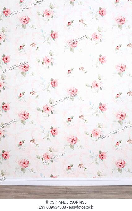 Background with rose floral ornaments
