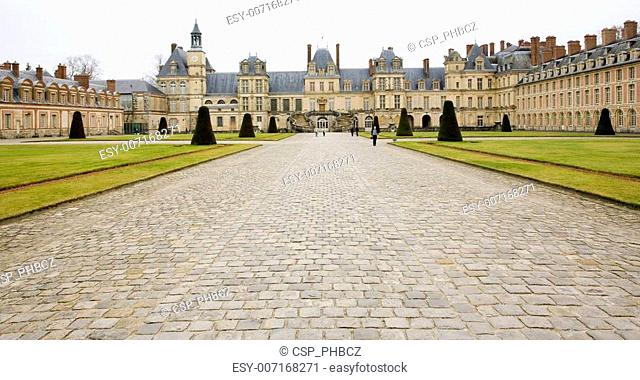 Palace Fontainebleau, France