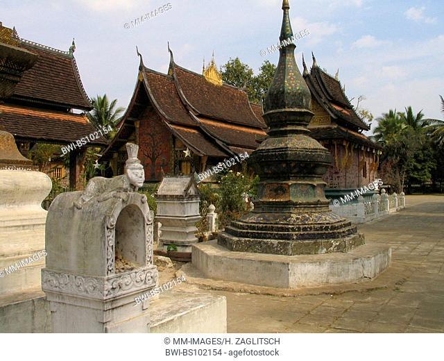 Wat Xieng Thong temple, Laos, Luang Prabang