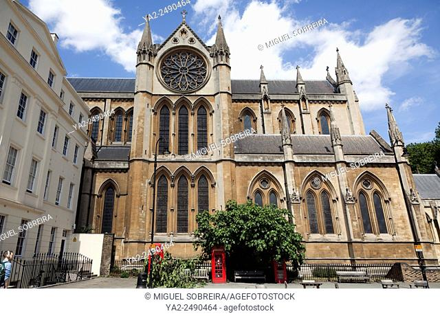 Church of the Christ King on Byng Place and Gordon Sqaure - London WC1 - UK