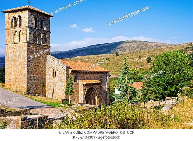 Romanesque Collegiate Church of San Pedro (12th Century). Cervatos. Cantabria. Spain