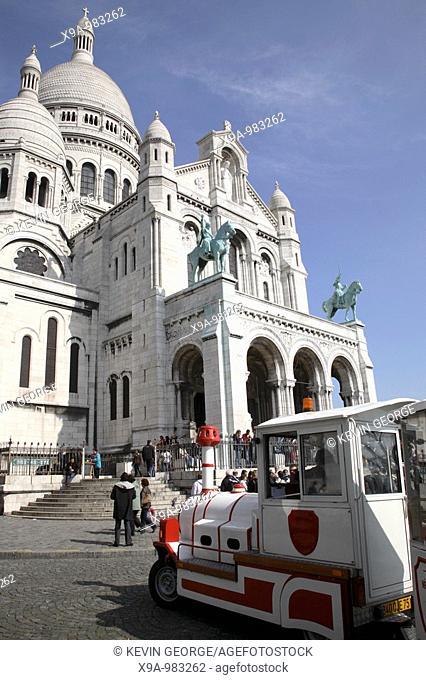 Sacre Coeur, Church, Montmartre, Paris, France