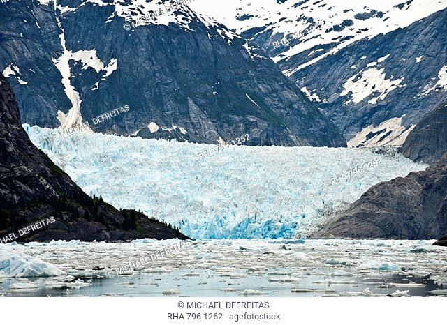 LeConte Glacier in LeConte Bay, Southeast Alaska, Alaska, United States of America, North America