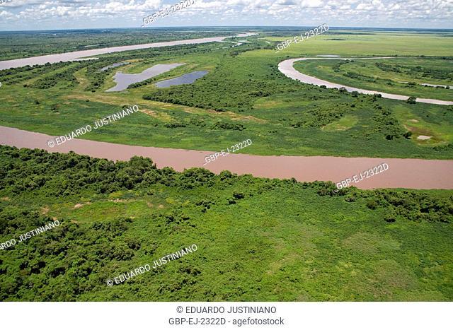 Miranda and Paraguai Rivers, Corumbá, Mato Grosso do Sul, Brazil