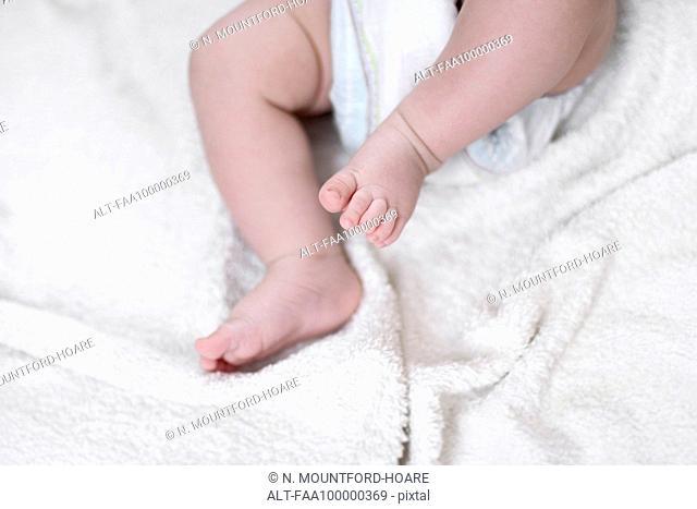 Baby's legs