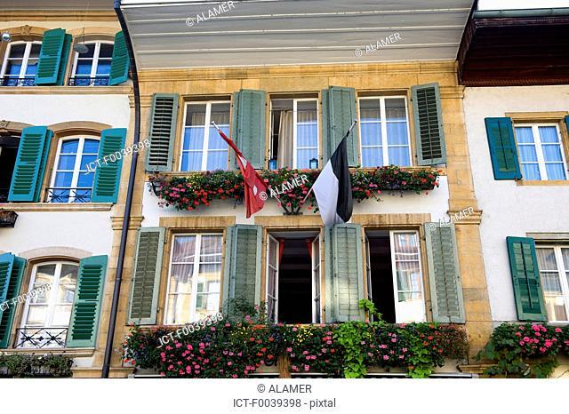 Switzerland, canton of Fribourg, Murten