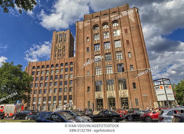 Ullsteinhaus, Ullstein Verlag building (1927), Tempelhof, Berlin, Germany