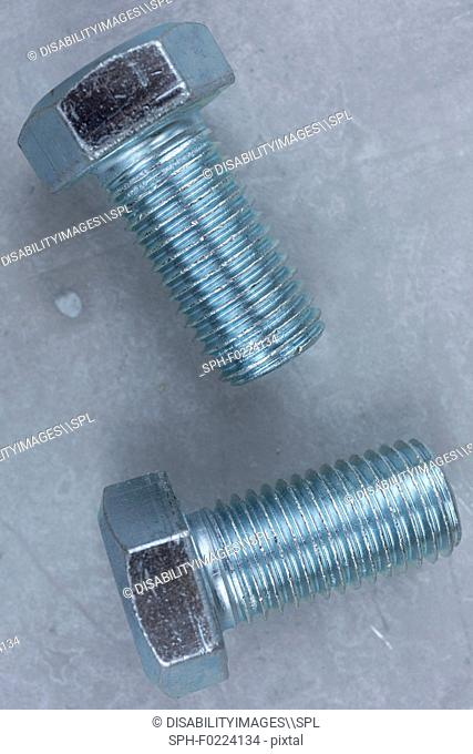 New carriage bolts