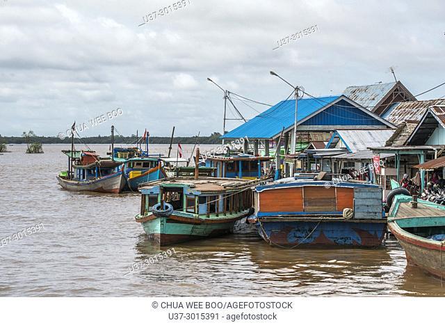 Sei Kakap fishing village, Pontianak, West Kalimantan, Indonesia