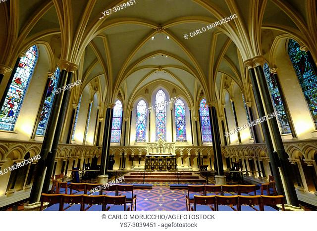 Lady Chapel in St Patrick's Cathedral, Dublin, Ireland, Europe