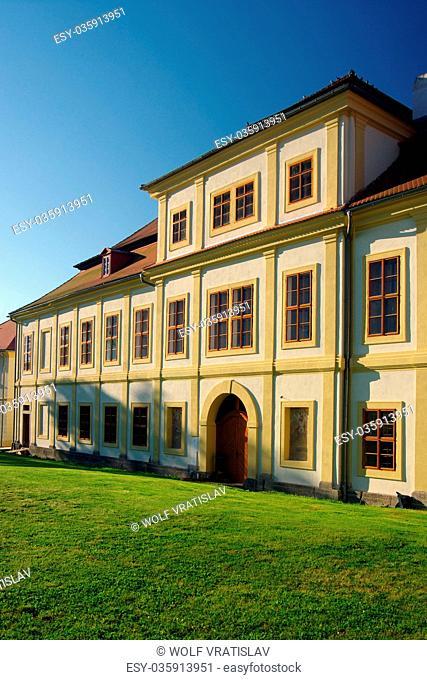 Svojsin Chateau, the Plzen Region, the Southwestern Bohemia, Czech Republic