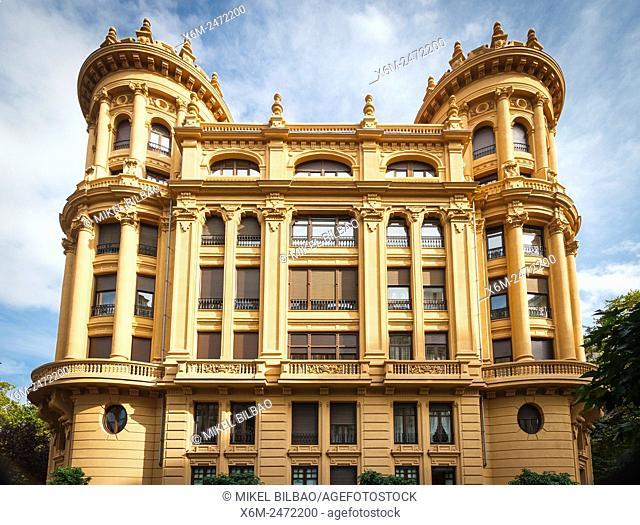 Lezama Leguizamon House. Bilbao. Biscay, Spain, Europe