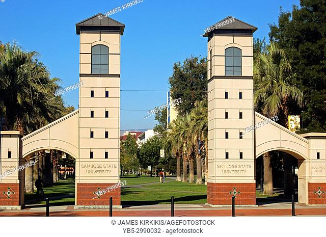 Entrance Gates to the San Jose State University
