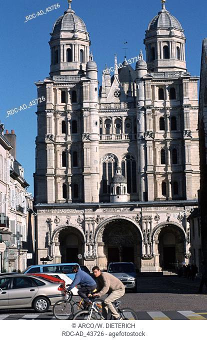Church St. Michel Dijon Cote d'Or Burgundy France