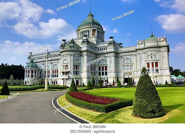 Ananta Samakhom Throne Hall, part of the Dusit Palace in Bangkok, Thailand