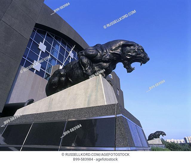 Carolina Panthers Stadium, Downtown, Charlotte, North Carolina