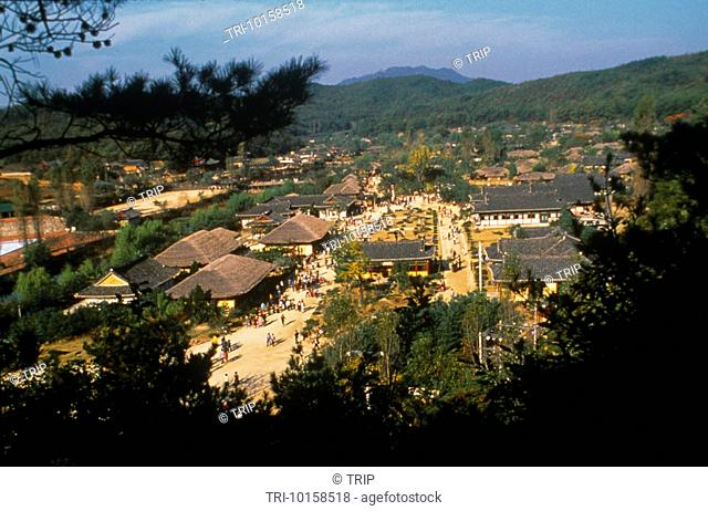 Korea Folk Village Overview