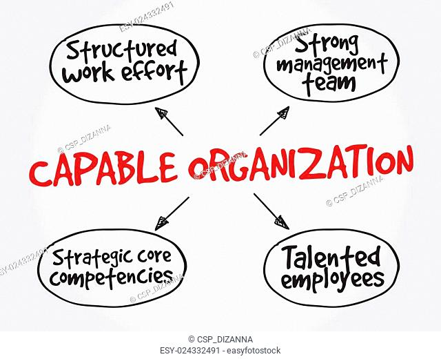 Capable organization